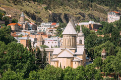 Tbilisi Sioni katedra, Gruzja Katedra święty Mary Zio Zdjęcie Stock