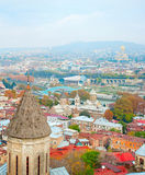 Tbilisi skyline Royalty Free Stock Images