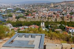tbilisi stare miasto Zdjęcia Stock