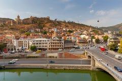 tbilisi stare miasto fotografia stock