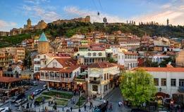Tbilisi Stary miasteczko, stolica Gruzja zdjęcie royalty free