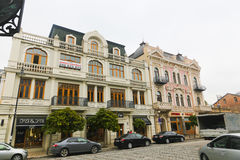 Tbilisi street, Georgia Royalty Free Stock Photos
