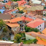 Tbilisi. Rooftops old town Royalty Free Stock Photos