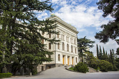 Tbilisi universitet Royaltyfri Bild
