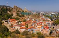 tbilisi Vecchia città Fotografia Stock Libera da Diritti