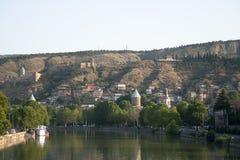 Tbilisi velho, Geórgia. Imagem de Stock
