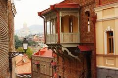 Tbilisi vieja Foto de archivo libre de regalías