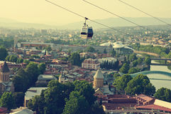 Tbilisi view Royalty Free Stock Image