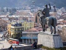老Tbilisii 库存照片
