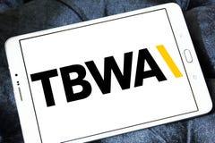 TBWA Na całym świecie reklamowej agenci logo Obraz Royalty Free