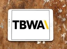 TBWA Na całym świecie reklamowej agenci logo Zdjęcie Royalty Free