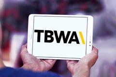 TBWA Na całym świecie reklamowej agenci logo Obraz Stock