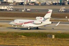 TC-AKE Private Jet Plane Stock Photo