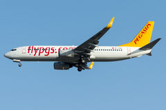 TC-CPO Pegasus Airlines, Boeing 737 - 800 nannten HAYAL Lizenzfreie Stockfotografie
