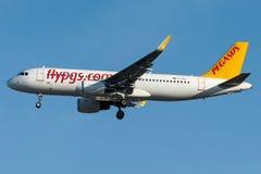 TC-DCI Pegasus Airlines, Airbus A320 - 200 Foto de Stock