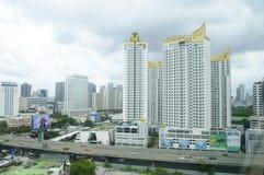 Tc green condo in Bangkok city Stock Photos