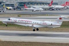 TC--GVSflygambulansen fungerade vid det Turkiet departementet av hälsa Royaltyfri Bild