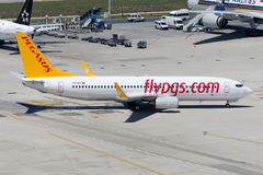 TC-IZG Pegasus Airlines Boeing 737-8AS Immagine Stock