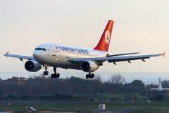TC-JCZ Turkish Airlines Cargo,Airbus A310-304F ERGENE Stock Photos