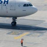TC-JDN Turkish Airlines Airbus A340-313X Fotos de archivo