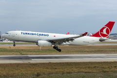 Tc-JDO Turkish Airlines-Ladingsluchtbus A330-243F MERIC Royalty-vrije Stock Afbeelding