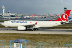 TC-JDP Turkish Airlines, Airbus A330-243F named FIRAT royalty free stock photo