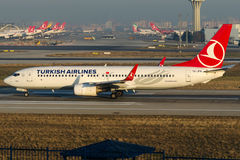 TC-JFN Turkish Airlines,Boeing 737-8F2 named BITLIS Stock Photography