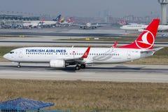 TC-JGB Turkish Airlines, Boeing 737-8F2 FOCA Stock Photos