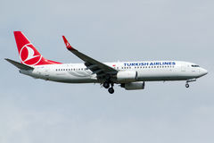 TC-JGP Turkish Airlines, Boeing 737-8F2 BARTIN Stock Image