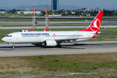 TC-JHN Turkish Airlines, Boeing 737-8F2 named YESILIRMAK Stock Photography