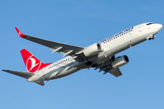 TC-JHR Turkish Airlines, Boeing 737-8F2 MANISA Stock Image