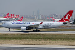 TC-JIM Turkish Airlines, Airbus A330-202 ERENKOY Stock Photos