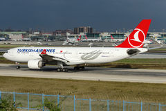 TC-JIO Turkish Airlines, Airbus A330-223 Royalty Free Stock Image