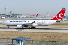TC-JIP Turkish Airlines, Airbus A330-223 Stock Photos