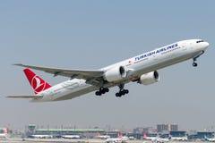 TC-JJS Turkish Airlines ,Boeing 777-3F2 ZIGANA Stock Image