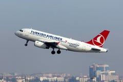 TC-JLZ Airbus A319-132 Turkish Airlines Imagem de Stock Royalty Free