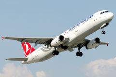 TC-JMH Turkish Airlines, Airbus A321-232 named DIDIM Royalty Free Stock Photography