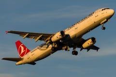 TC-JMM Turkish Airlines, Aerobus A321-231 zwany ERCIYES Fotografia Royalty Free
