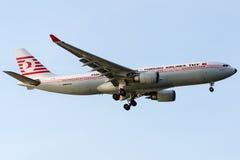 TC-JNC土耳其航空, A330-203名为久志本的空中客车 免版税库存图片