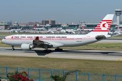 TC-JNC Turkish Airlines, Airbus A330-203 appelé KUSHIMOTO photo stock
