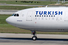 TC-JNG Turkish Airlines Aerobus A330-202 ESKISEHIR Zdjęcie Royalty Free