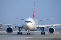 TC-JNK Turkish Airlines Aerobus A330-343 SANLIURFA Obrazy Stock
