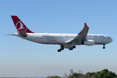 TC-JNM Turkish Airlines Airbus A330-343E SAMSUN Royalty Free Stock Photography