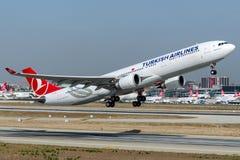 TC-JNZ Turkish Airlines , Airbus A330-300 named KARTALKAYA Stock Image