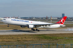 TC-JOC Turkish Airlines Airbus A330-303 GOBEKLITEPE Royalty Free Stock Image