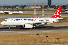 TC-JPL Turkish Airlines, Airbus A320-232 named GOREME Stock Photo