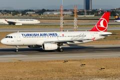 TC-JPL Turkish Airlines, Airbus A320-232 nomeado GOREME Foto de Stock