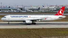 TC-JRE Turkish Airlines, Airbus A321-231 named BEYPAZARI Stock Photography