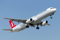 Tc-JRP Turkish Airlines-Luchtbus A321-231 URGUP Stock Afbeelding