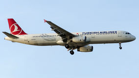 TC-JRS Turkish Airlines, Aerobus A321-231 zwany DATCA Fotografia Royalty Free
